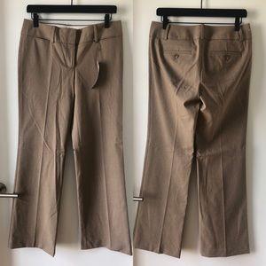 LOFT Marissa wide leg trouser (dark khaki)